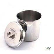 Boite cylindre 19 cm - Onyx