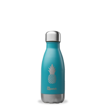 Bouteille isotherme inox - Blue Ananas - 260 ml