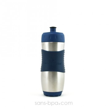 Gourde inox 473ml NAVY SafeSporter