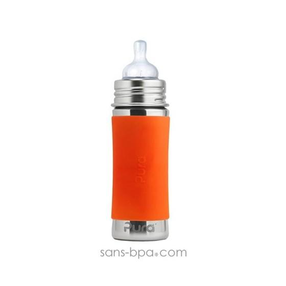 Biberon inox 325 ml - Aqua