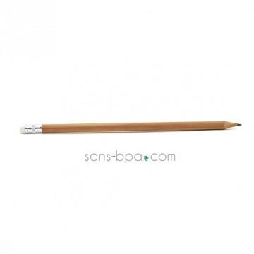 Crayon en bois HB & sa mine naturelle