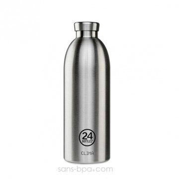 Bouteille inox isotherme 850ml CLIMA - INOX