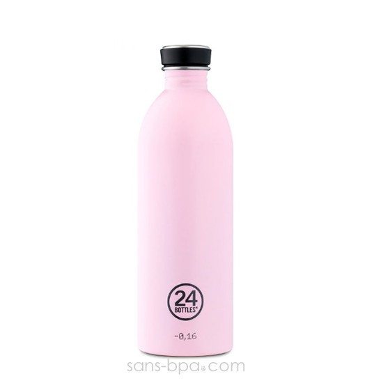 Gourde inox 1000 ml - CANDY PINK