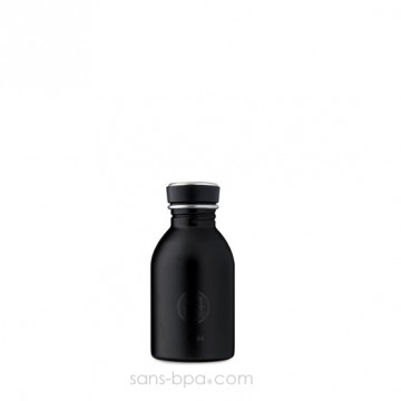 Mini gourde 250 ml URBAN - TUXEDO BLACK