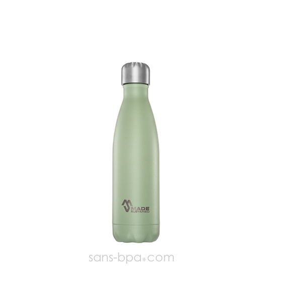 Bouteille isotherme 100% inox 500ml Désert Sage