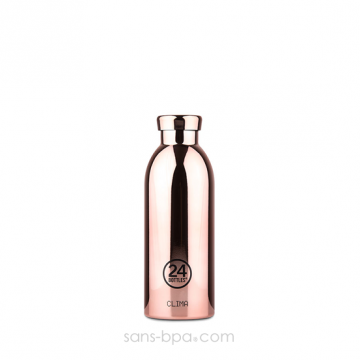 Bouteille inox isotherme 500ml CLIMA - Rose Gold
