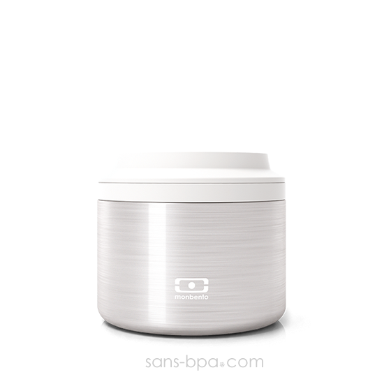 Boite repas inox isotherme 650 ml - Silver