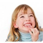 Brosse à dents & anneau de dentition Rose Brush Baby
