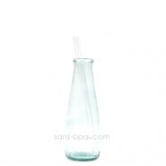 Paille en verre droite - courte - standard . La Transparente