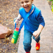 Porte-gourde Kids - Ourson - STEPHEN JOSEPH