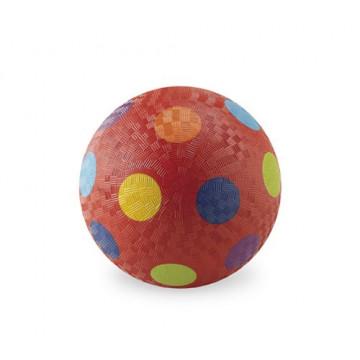 Balle caoutchouc 18 cm ROUGE