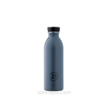 Cabosse - Gourde inox 500 ml GREY - 24 Bottles