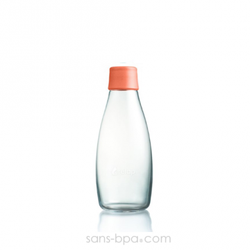 Gourde verre 300 ml ORANGE