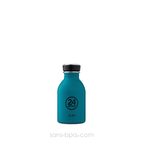 Mini gourde 250 ml URBAN - ICE WHITE
