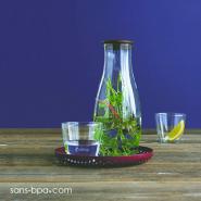 Carafe verre 1200 ml - Green