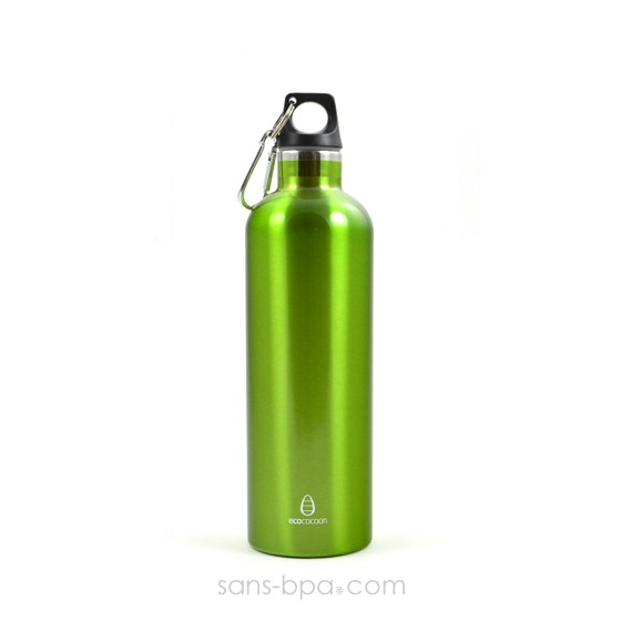 Bouteille isotherme 600ml GREEN