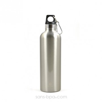 Bouteille isotherme 600ml SILVER