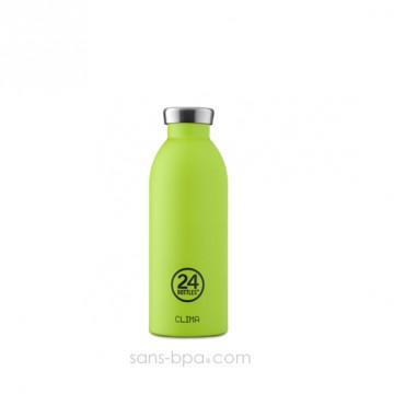 Bouteille inox isotherme 500ml CLIMA - Lime