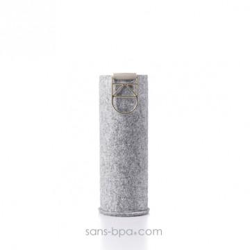 Gourde verre 750 ml - MISMATCH - Sand Sky