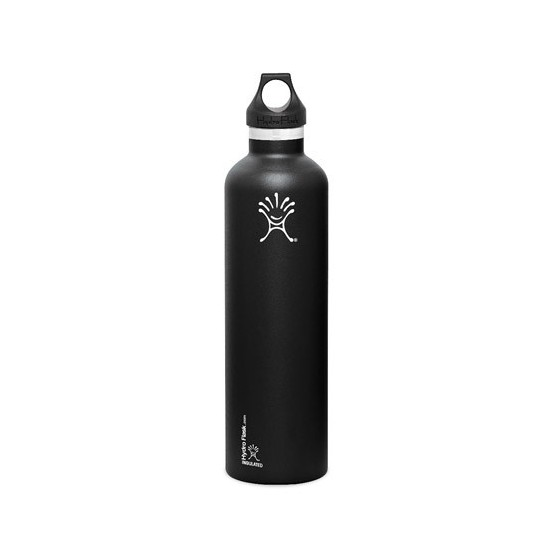 Bouteille inox Isotherme Noire Hydro Flask - 700 ml