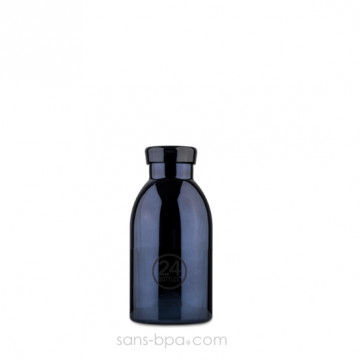 Bouteille inox isotherme 330ml - CLIMA BLACK RADIANCE