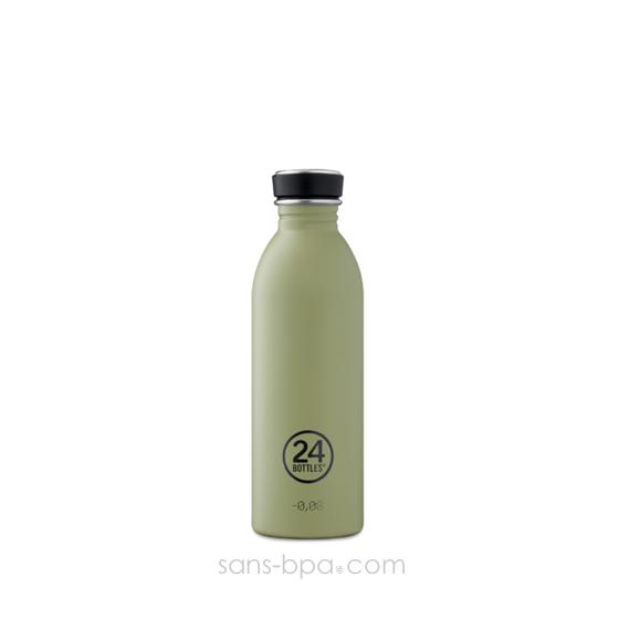 Gourde inox 500 ml URBAN - STONE SAGE