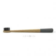 Brosse à dents bambou - RONDOCOLOR - Gris Gris