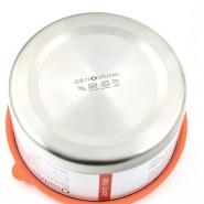 Boite inox & silicone Quadrio - Petite