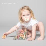 Sucette physiologique 3-36 mois - WATERMELON