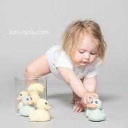 Canard de bain caoutchouc Mini Kawan ROSE