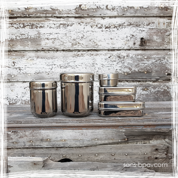 Kit Coffret 6 glaçons & 4 pailles inox