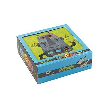 Puzzle cube ROBOTS