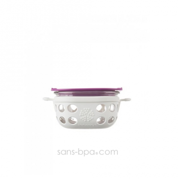 Boite repas verre gainé SMALL - White huckleberry