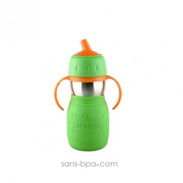 Safe Sippy anti-fuite 330ml - Modèle simplifié Green