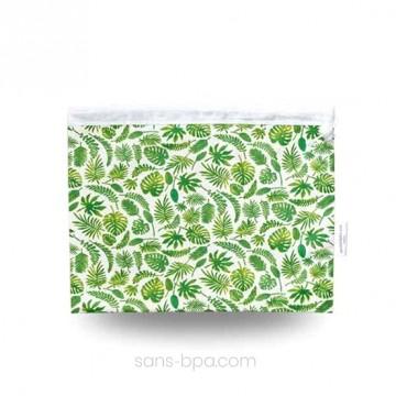 Sac à salades - Modèle - Feuillage vert