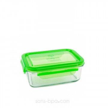 Contenant verre Lunch Tube 695 ml - Green