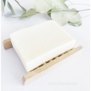 Porte savon bois de bambou