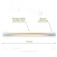 Cotons-tiges biodégradables bambou