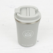 Tasse inox isolée 380 ml GREY