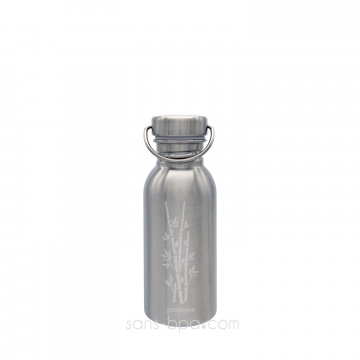 Gourde inox 500ml SPORTY - BAMBOU
