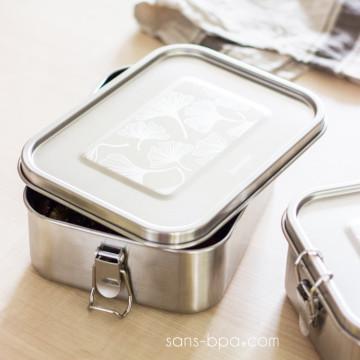 Lunchbox inox étanche à compartiments - GINKO
