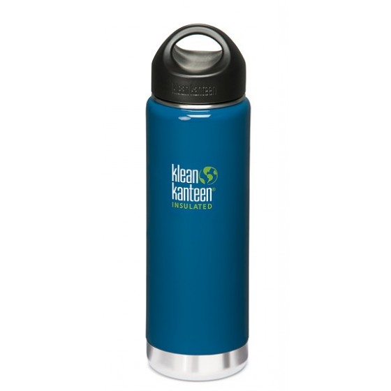 Bouteille isotherme 592 WIDE INSULATED Monterey Blue de KLEAN KANTEEN