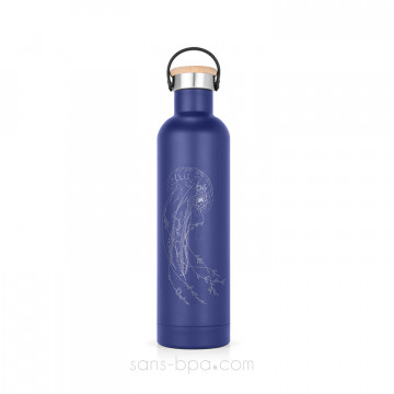 Bouteille isotherme inox 500ml Label'Tour - MEDUSE