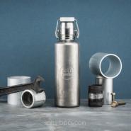 Gourde inox 600 ml - INDUSTRIAL