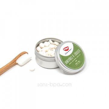 Dentifrice solide et naturel – Menthe poivrée