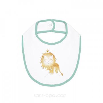 Bavoir coton BIO - LION