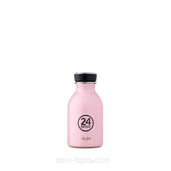 Mini gourde 250 ml URBAN - CANDY PINK
