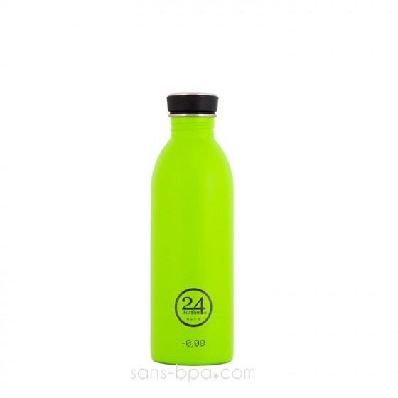 Gourde inox 500 ml URBAN - GREEN
