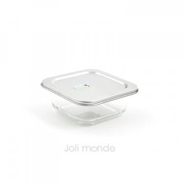 Contenant De verre & d'inox 520ml - Joli Monde