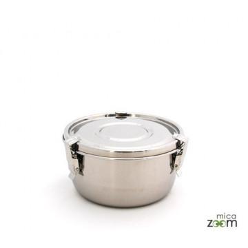 Boite inox diamètre 12cm